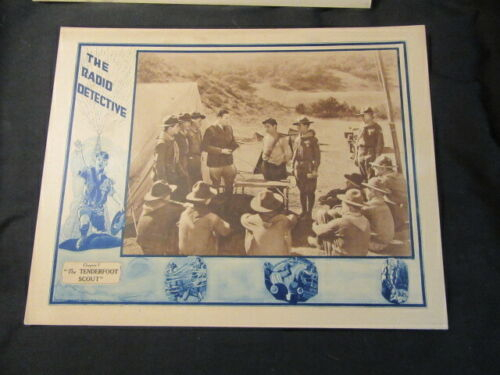 The Radio Detective Chapter 7 The Tenderfoot Scout 1926 Poster