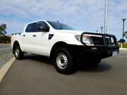 2012 Ford Ranger PX XL 2.2 HI-Rider (4x2) White 6 Speed Manual Cab Chassis Kenwick Gosnells Area Preview
