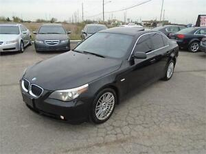 2007 BMW 5 Series 525i - BLACK ON BLACK | FULLY LOADED