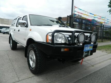 2011 Nissan Navara D22 Series 5 ST-R (4x4) White 5 Speed Manual Williamstown North Hobsons Bay Area Preview