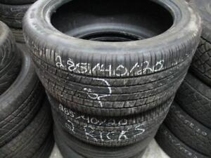 285/40 R20 EAGLE RS1 USED TIRES (SET OF 2) - APPROX. 70% TREAD