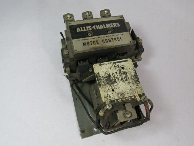 Allis-Chalmers 14-962-052-04-101 Size 2 Motor Control 50A 110V@3HP/1Ph  USED