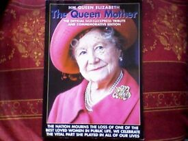 QUEEN MOTHER TRIBUTE - DAILY EXPRESS - COMMEMORATIVE EDITION