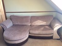 SOFA with chaise (right or left) and ARMCHAIR