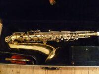 Conn 10M tenor saxophone, original Conn case- beautiful vintage sax with that big Conn sound