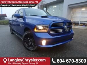 2017 RAM 1500 Sport *ACCIDENT FREE * DEALER INSPECTED * CERTI...