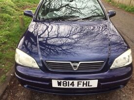 AUTOMATIC VAUXHALL ASTRA IN EXCELLENT CONDITION LOOKS AND DRIVES LIKE ALMOST NEW