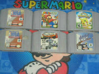 Nintendo 64 Lot+Extras/Restored/Tested/Old Skool Gamers