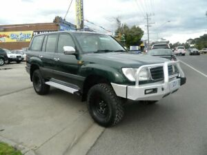 1999 Toyota Landcruiser FZJ105R GXL (4x4) Green 4 Speed Automatic 4x4 Wagon Williamstown North Hobsons Bay Area Preview