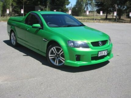 2009 Holden Ute VE MY09.5 SV6 Green 6 Speed Manual Utility Elizabeth Playford Area Preview