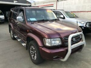 2002 Holden Jackaroo U8 Equipe Maroon 4 Speed Automatic Wagon Granville Parramatta Area Preview