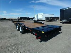 7 x 22 Equipment Hauler by Big Tex Trailers -*MEGA RAMPS INCL.*-