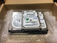 5x 160GB - 2x 320GB HDD Lot Of Various Models SATA 2.5 Laptop Hard Drive HDD
