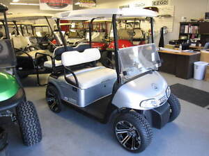 2013 EZGO RXV SILVER GOLF CART ELECTRIC 48V