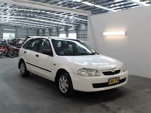 2000 Mazda 323 ASTINA Astina White 4 Speed Automatic Hatchback Beresfield Newcastle Area Preview