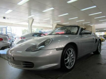 2004 Porsche Boxster 986 Silver 5 Speed Tiptronic Roadster Fyshwick South Canberra Preview