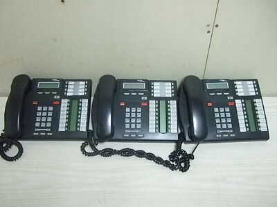 - 3 Nortel Norstar T7316 T7316E BUSINESS SYSTEM DISPLAY PHONE PHONES for one money