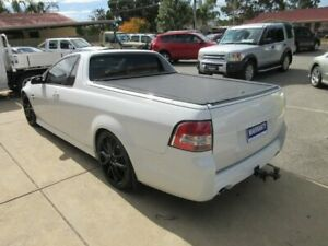 2008 Holden Commodore VE Omega White 6 Speed Manual Utility Gilles Plains Port Adelaide Area Preview