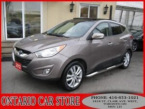 2012 Hyundai Tucson LIMITED AWD NAVIGATION PANO.ROOF DUAL DVD'S