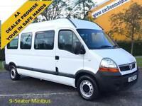 2010 /10 Vauxhall Movano LM35 DCI 9 seat Minibus - Shuttle