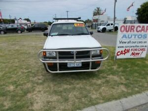 1998 Ford Courier GL White 5 Speed Manual Utility