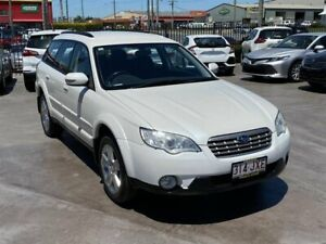 2007 Subaru Outback MY07 2.5i AWD White 4 Speed Auto Elec Sportshift Wagon Brendale Pine Rivers Area Preview