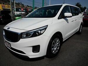 2015 Kia Carnival YP MY15 S White 6 Speed Automatic Wagon Mount Gravatt Brisbane South East Preview