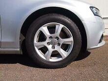 2011 Audi A4 B8 8K MY11 E Silver CVT Auto 8 Speed Wagon Petersham Marrickville Area Preview