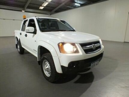 2012 Holden Colorado RC MY11 LX (4x2) White 4 Speed Automatic Crew Cab P/Up
