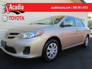 2012 Toyota Corolla CE with Enchanced Convenience Pkg!