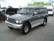 1998 Mitsubishi Pajero NL GLS LWB (4x4) Grey & Silver 4 Speed Automatic 4x4 Wagon Officer Cardinia Area Preview