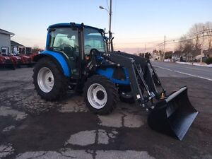 PLAIN AND SIMPLE - LANDINI 4-080 CAB TRACTOR & LOADER