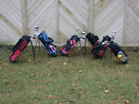 Junior golf club sets by age group size