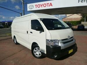2016 Toyota Hiace KDH221R MY16 SLWB French Vanilla 4 Speed Automatic Van Allawah Kogarah Area Preview