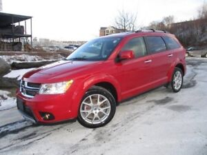 2018 Dodge Journey GT (V6, 7-PASS, FACTORY DVD, HEATED LEATHER &