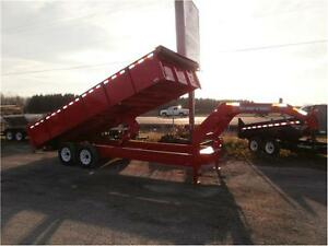 HD Deckover Dump Trailer