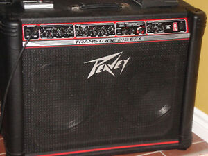 Amplificateur Peavey transtube 212 efx 100 watts + footswitch