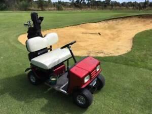 Single bag electric golf cart - mobility - light utility vehicle