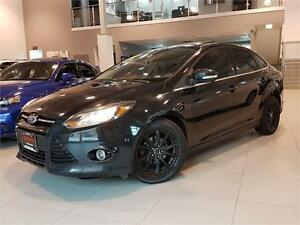 2012 Ford Focus TITANIUM-NAVI-CAMERA-LEATHER-SUNROOF-LOADED