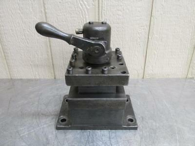 Warner Swasey Turret Lathe Tool Holder Post Square