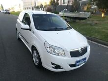 2010 Holden Barina TK MY10 White 4 Speed Automatic Hatchback Sylvania Sutherland Area Preview