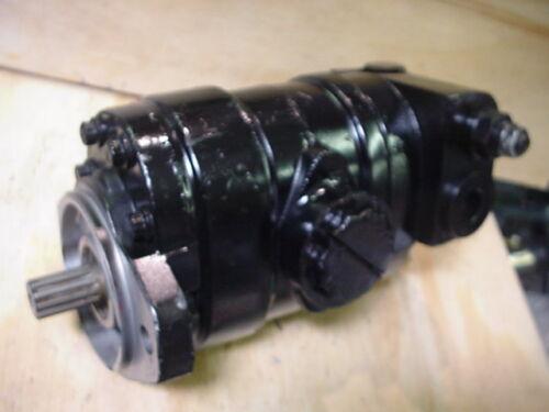 New Eaton 26511-RAK 26511RAK tandem dual hydraulic gear pump
