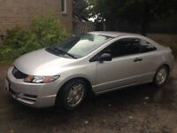 must sell 2010 Honda Civic Coupe certified and warranty