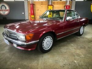 1989 Mercedes-Benz 560 SL 4 Speed Automatic Convertible Fyshwick South Canberra Preview