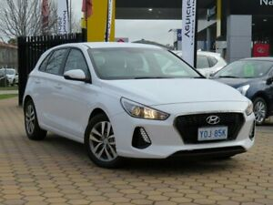 2018 Hyundai i30 PD MY18 Active White 6 Speed Sports Automatic Hatchback Greenway Tuggeranong Preview