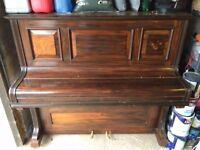 FREE to a good home. Wooden upright piano **SOLD**