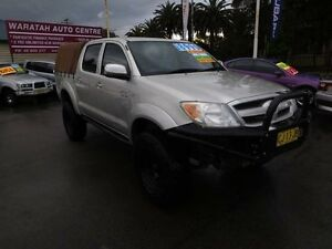 2005 Toyota Hilux KUN26R SR5 (4x4) Silver 5 Speed Manual Dual Cab Pick-up Waratah Newcastle Area Preview