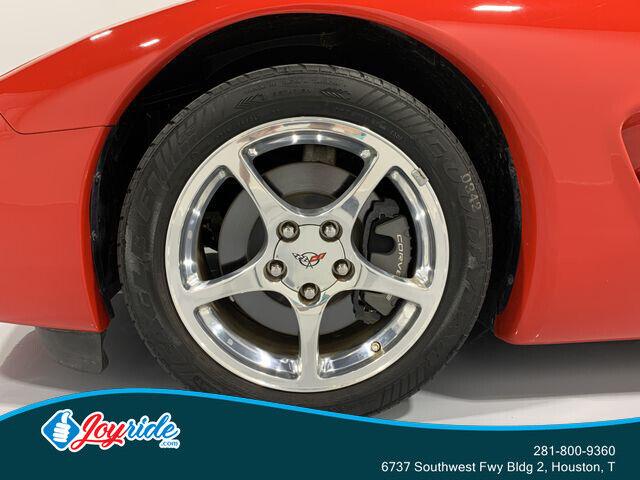 2004 Red Chevrolet Corvette Convertible  | C5 Corvette Photo 9