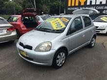 2000 Toyota Echo NCP10R Silver 4 Speed Automatic Hatchback Wickham Newcastle Area Preview