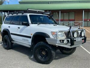 2001 Nissan Patrol GU II ST White 5 Speed Manual Wagon Mount Druitt Blacktown Area Preview
